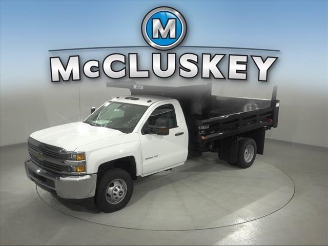 2017 Silverado 3500 Regular Cab DRW 4x2,  Rugby Z-Spec Dump Body #173857 - photo 6