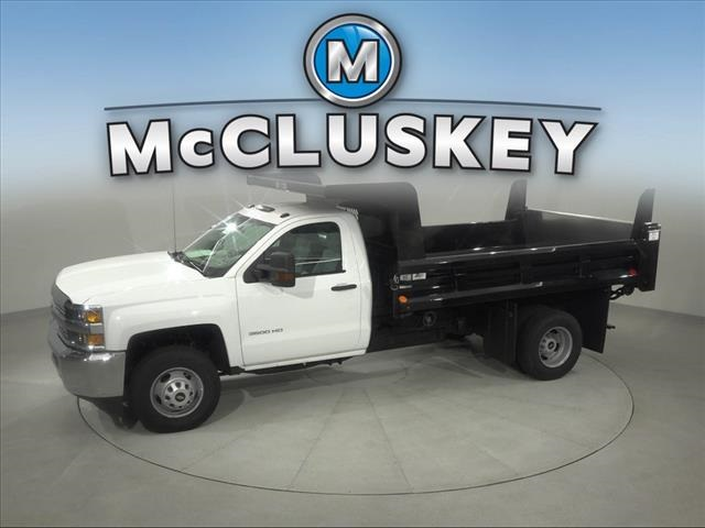 2017 Silverado 3500 Regular Cab DRW 4x2,  Rugby Z-Spec Dump Body #173857 - photo 7