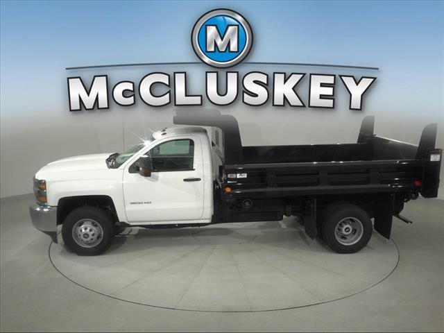 2017 Silverado 3500 Regular Cab DRW 4x2,  Rugby Z-Spec Dump Body #173857 - photo 2