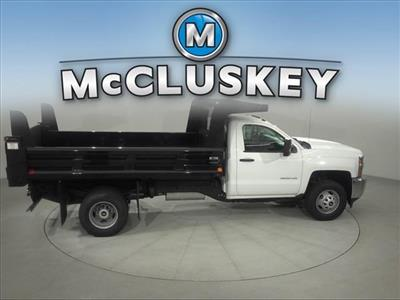 2017 Silverado 3500 Regular Cab DRW 4x2,  Rugby Z-Spec Dump Body #173857 - photo 16