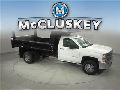 2017 Silverado 3500 Regular Cab DRW 4x2,  Rugby Z-Spec Dump Body #173857 - photo 18