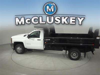 2017 Silverado 3500 Regular Cab DRW 4x2,  Rugby Z-Spec Dump Body #173857 - photo 8