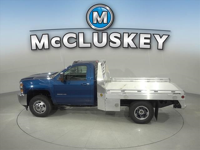 2019 Silverado 3500 Regular Cab DRW 4x4,  Hillsboro Platform Body #190631 - photo 9
