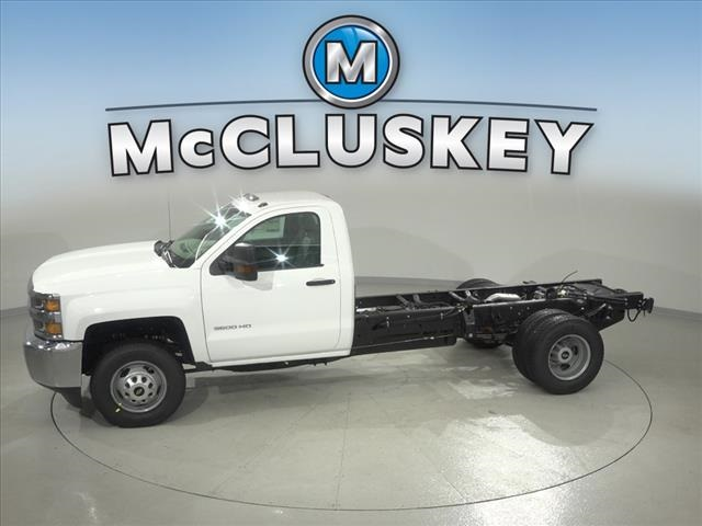 2019 Silverado 3500 Regular Cab DRW 4x2,  Cab Chassis #190745 - photo 7