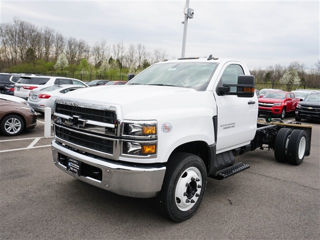 New 2019 Chevrolet Silverado 5500 Cab Chassis For Sale In
