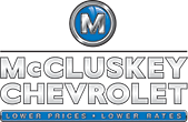 McCluskey Chevrolet, Inc. logo