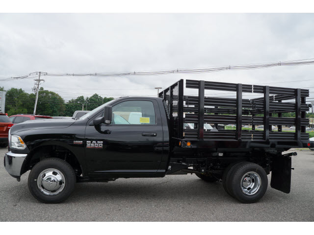 2017 Ram 3500 Regular Cab DRW 4x4, Reading Steel Stake Bodies Stake Bed #R172302 - photo 2