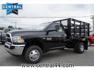 2017 Ram 3500 Regular Cab DRW 4x4, Reading Steel Stake Bodies Stake Bed #R172302 - photo 1