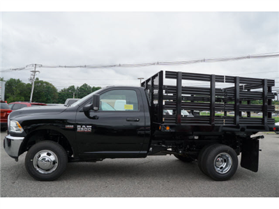 2017 Ram 3500 Regular Cab DRW 4x4, Reading Steel Stake Bodies Stake Bed #R172302 - photo 3