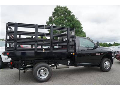 2017 Ram 3500 Regular Cab DRW 4x4, Reading Steel Stake Bodies Stake Bed #R172302 - photo 4