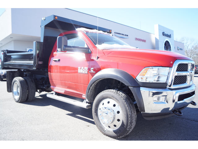 2017 Ram 5500 Regular Cab DRW 4x4,  Galion Dump Body #R17801 - photo 5