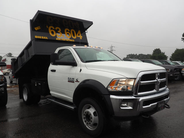 2018 Ram 5500 Regular Cab DRW 4x4,  Iroquois Dump Body #R181719 - photo 11