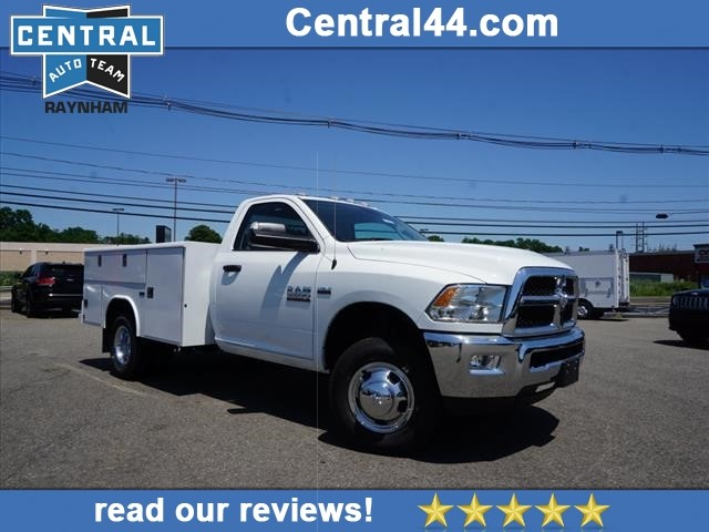2018 Ram 3500 Regular Cab DRW 4x4,  Reading Classic II Steel Service Body #R181829 - photo 1