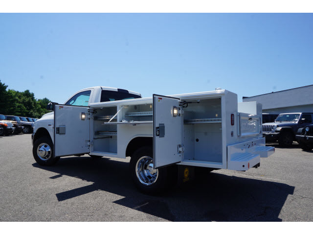 2018 Ram 3500 Regular Cab DRW 4x4,  Reading Classic II Steel Service Body #R181829 - photo 2