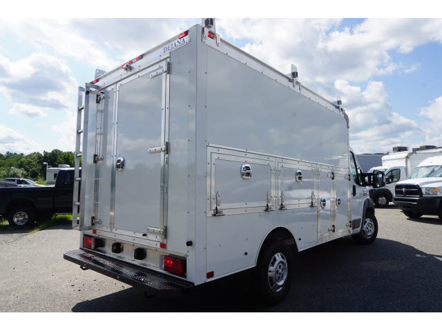 2018 ProMaster 3500 Standard Roof FWD,  Dejana Truck & Utility Equipment Service Utility Van #R182791 - photo 2