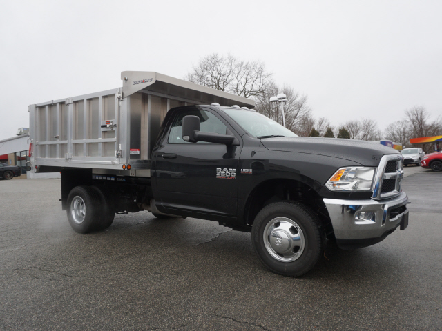 2018 Ram 3500 Regular Cab DRW 4x4,  Landscape Dump #R183434 - photo 5