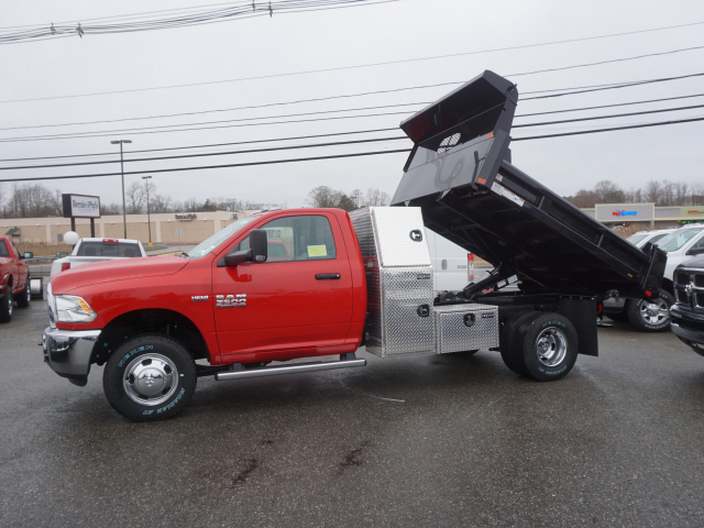 2018 Ram 3500 Regular Cab DRW 4x4,  Dump Body #R183486 - photo 2