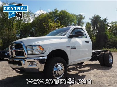 2018 Ram 3500 Regular Cab DRW 4x4 Cab Chassis #R18361 - photo 1