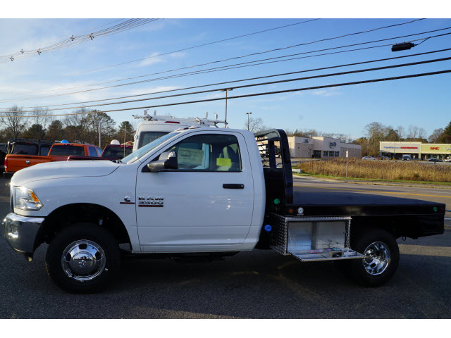 2018 Ram 3500 Regular Cab DRW 4x4, DewEze Platform Body #R18460 - photo 3