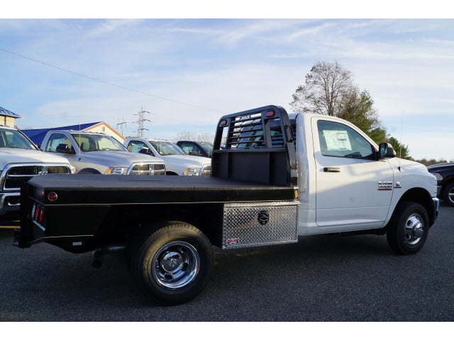 2018 Ram 3500 Regular Cab DRW 4x4, DewEze Platform Body #R18460 - photo 4