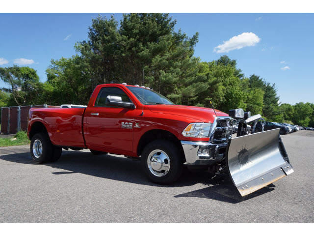 2018 Ram 3500 Regular Cab DRW 4x4,  Fisher Pickup #R18483 - photo 3
