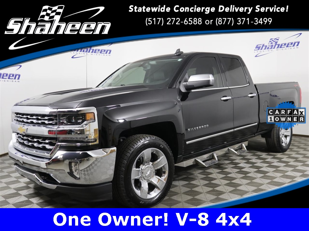 2018 Silverado 1500 Extended Cab 4x4 Pickup #72669 - photo 1