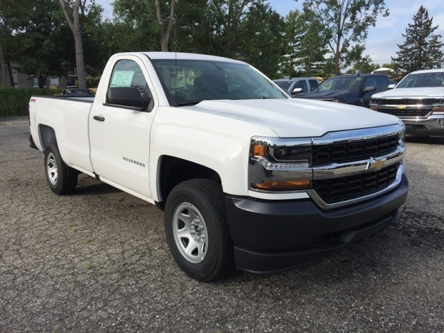 2018 Silverado 1500 Regular Cab 4x4, Pickup #72736 - photo 6