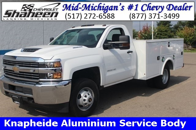2018 Silverado 3500 Regular Cab DRW 4x4,  Service Body #75555 - photo 1