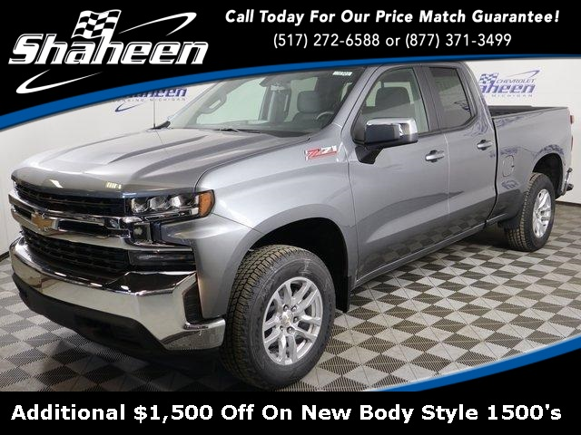2019 Silverado 1500 Double Cab 4x4 Pickup Stock 76878