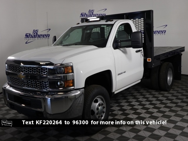 2019 Silverado 3500 Regular Cab DRW 4x4,  Knapheide Platform Body #77791 - photo 1
