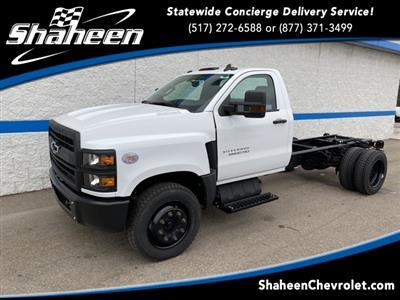 2019 Silverado Medium Duty Regular Cab DRW 4x2,  Cab Chassis #78031 - photo 1