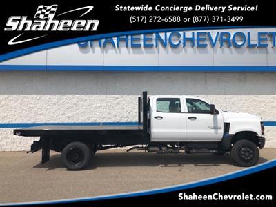 2019 Silverado Medium Duty Crew Cab DRW 4x4,  Knapheide Heavy-Hauler Junior Platform Body #78108 - photo 1