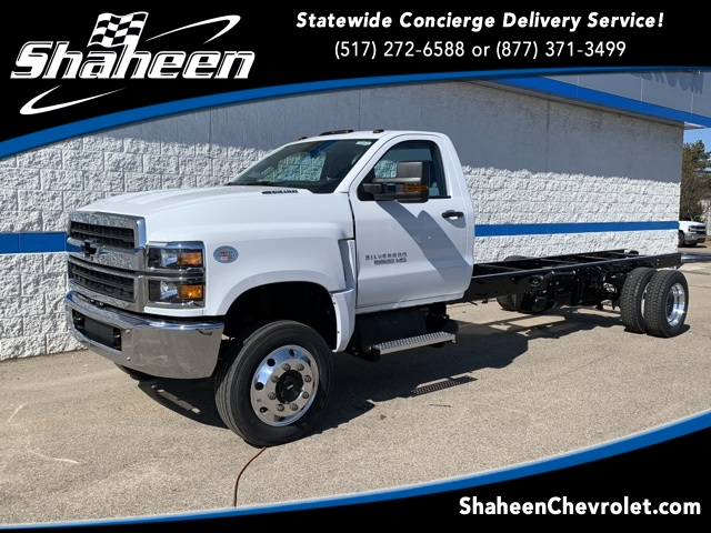 2019 Chevrolet Silverado 5500 Regular Cab DRW 4x4, Cab Chassis #78972 - photo 1