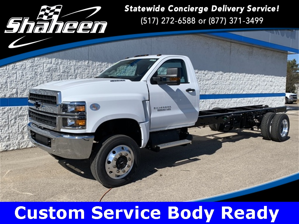 2019 Chevrolet Silverado 5500 Regular Cab DRW 4x4, Cab Chassis #78976 - photo 1