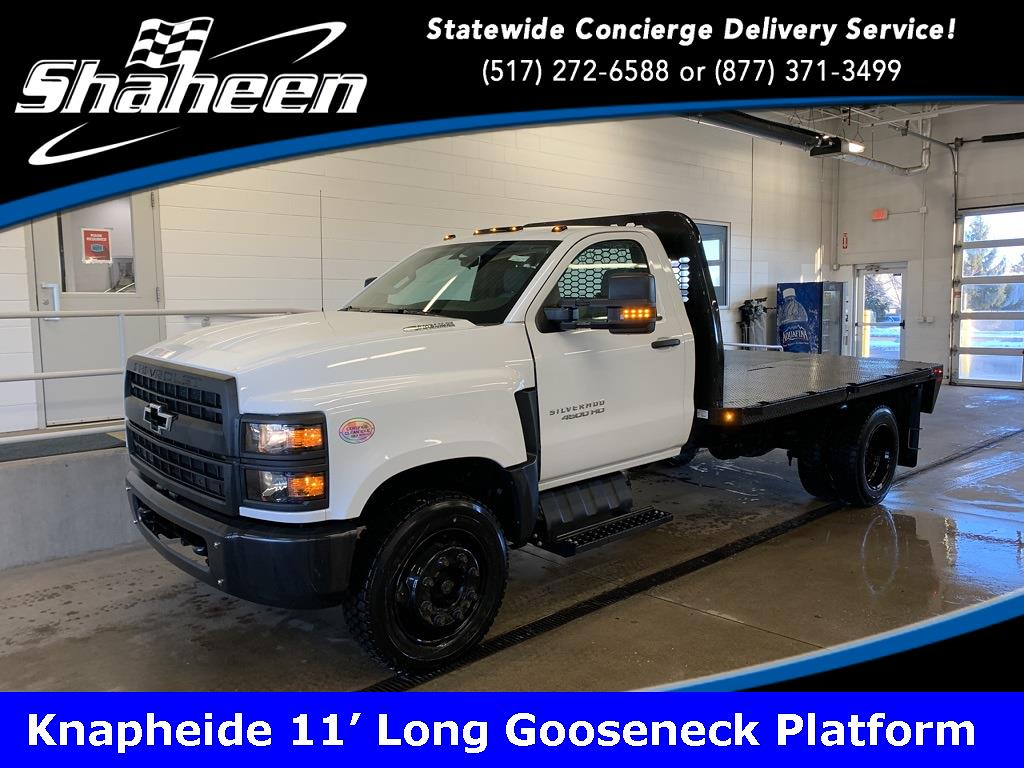 2020 Chevrolet Silverado 4500 Regular Cab DRW 4x2, Knapheide Platform Body #79055 - photo 1