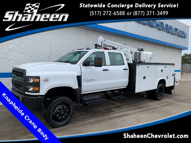 2019 Chevrolet Silverado 5500 Crew Cab DRW 4x4, Knapheide Mechanics Body #79387 - photo 1