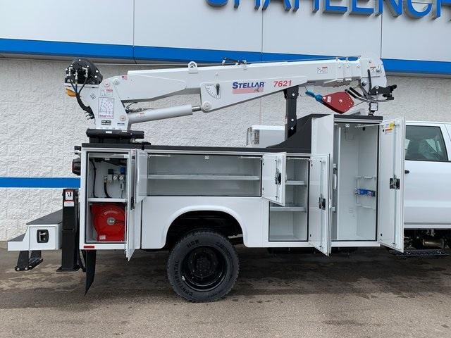 2019 Chevrolet Silverado 5500 Crew Cab DRW 4x4, Knapheide KMT Mechanics Body #79387 - photo 19