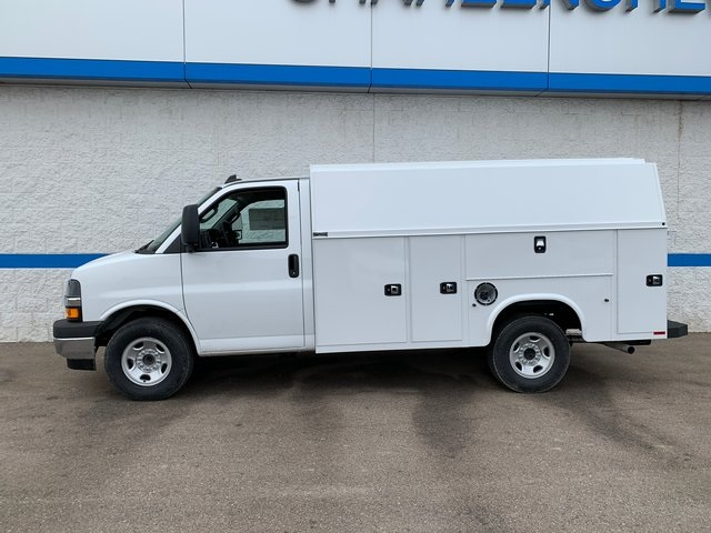 2020 Chevrolet Express 3500 4x2, Knapheide KUV Service Utility Van #79534 - photo 3