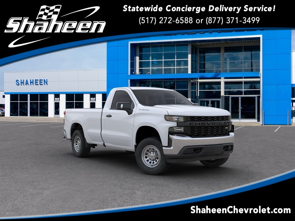 2020 Chevrolet Silverado 1500 Regular Cab 4x4, Pickup #79721 - photo 1