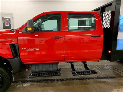 2020 Chevrolet Silverado 5500 Crew Cab DRW 4x4, Knapheide Platform Body #80054 - photo 17