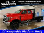 2020 Chevrolet Silverado 5500 Crew Cab DRW 4x4, Knapheide Platform Body #80054 - photo 1