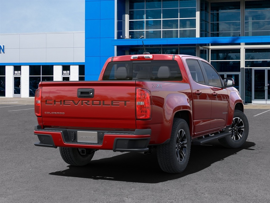 2021 Chevrolet Colorado Crew Cab 4x4, Pickup #80257 - photo 1