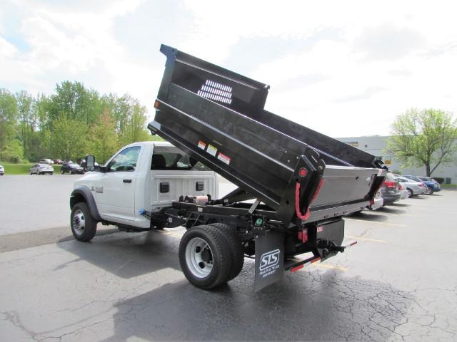 2017 Ram 5500 Regular Cab DRW 4x4, Reading Dump Body #255NP - photo 8