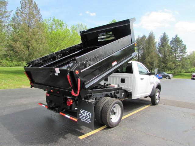 2017 Ram 5500 Regular Cab DRW 4x4, Reading Dump Body #255NP - photo 12
