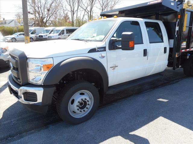 2016 F-550 Crew Cab DRW 4x4, Morgan Landscape Dump #T16236 - photo 4