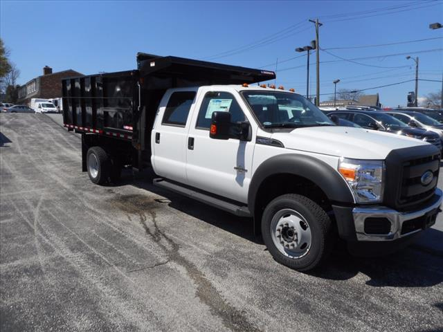 2016 F-550 Crew Cab DRW 4x4, Morgan Landscape Dump #T16236 - photo 6