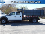 2016 F-550 Crew Cab DRW 4x4, Morgan Landscape Dump #T16236 - photo 1