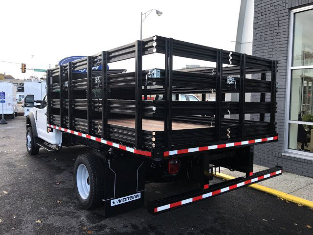 2019 F-450 Regular Cab DRW 4x4,  Morgan Stake Bed #T19087 - photo 2