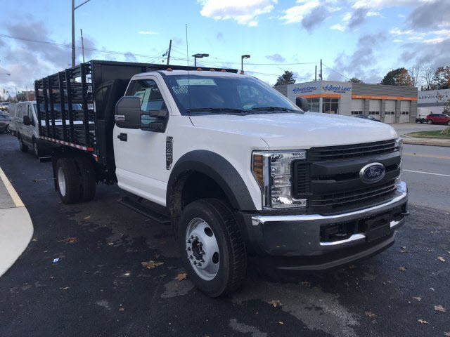 2019 F-450 Regular Cab DRW 4x4,  Morgan Stake Bed #T19087 - photo 4