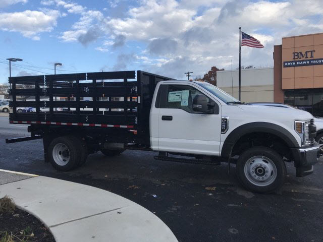 2019 F-450 Regular Cab DRW 4x4,  Morgan Stake Bed #T19087 - photo 5